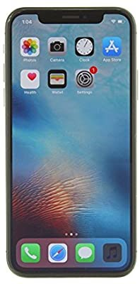 "Apple iPhone X, Unlocked 5.8"", 64GB - Space Gray"