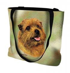 Pure Country Weavers Outdoor Travel Norfolk Terrier Tote Bag