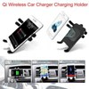 New Hot Qi Wireless Car Charger Transmitter Holder