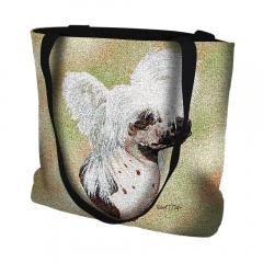Pure Country Weavers Outdoor Travel Chinese Crested Dog Tote Bag