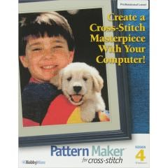 Hobbyware Pattern Maker Cross Stitch Software 4.0-Professional Version