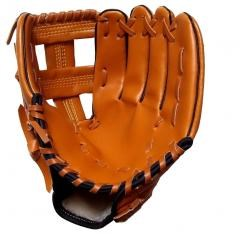 Panda Superstore [BROWN]Lightweight Comfortable Leather Baseball Outfilders-Gloves LEFT,12.5""