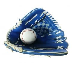 Panda Superstore [BLUE]Light Comfortable Leather Baseball Outfilders-Gloves LEFT,12.5""