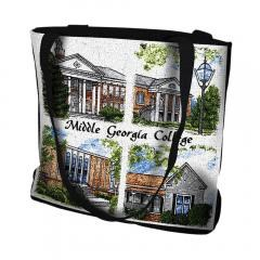 Pure Country Weavers Outdoor Travel Middle Georgia College Cochran Campus Tote Bag