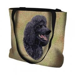 Pure Country Weavers Outdoor Travel Poodle Black Tote Bag