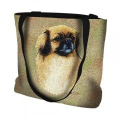 Pure Country Weavers Outdoor Travel Tibetan Spaniel Tote Bag