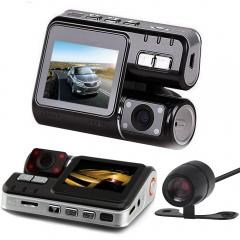 HD DVR 170 Car Dash Cam Recorder 1080p LED Night Vision G-sensor+Rear Camera