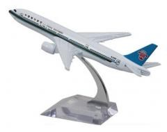 Panda Superstore Toys Airplane Alloyed Airplane Model Toy Boys Gifts, China Southern 777