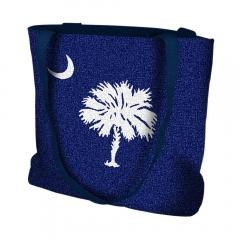 Pure Country Weavers South Carolina Palmetto Moon Flag Tote Bag