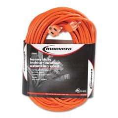 INNOVERA Indoor/outdoor Extension Cord, 100ft, Orange