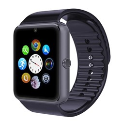 Hot GT08 Smart Watch Sync Notifier Support Sim Card Bluetooth Connectivity Apple iphone Android phon