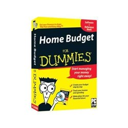 HOME BUDGET FOR DUMMIES   SOFTWARE +REFERENCE BOOK