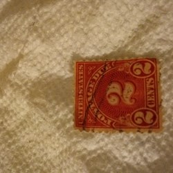Extremely-(rare-postage-due-stamp-from-the-(1800's-to-the-1900's-)-