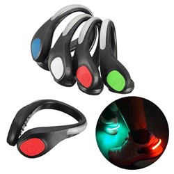 SPORT LED SHOES CLIP SAFETY NIGHT WARNING LIGHT LAMP