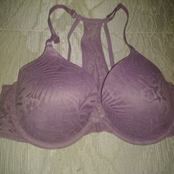 "Victoria's Secret ""Pink"" Bra Purple color 34C"