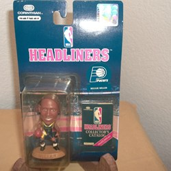 NBA HEADLINER-  ACTION FIGURE, PACERS, REGGIE MILLER