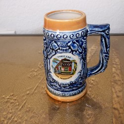 STEIN, SAN FRANCISCO MINI SOUVENIR  BEER STEIN.