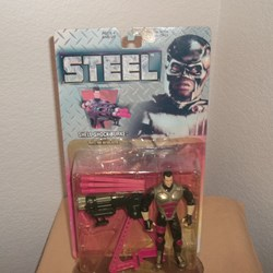 "STEEL ACTION FIGURE ""SHELL SHOCK BURKE"""