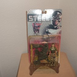 STEEL ACTION FIGURE LT SPARKS