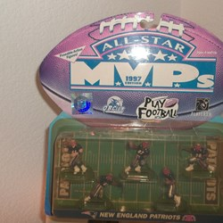 ALL-STAR MVPs ACTION FIGURES NEW ENGLAND PATRIOTS
