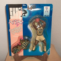 "SHAQUILLE O'NEAL  ACTION FIGURE SHAQ ATTAQ ""OVERHEAD SMASH"""