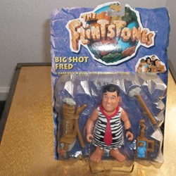"THE FLINTSTONES ""BIG SHOT FRED"" MATTEL 1993"