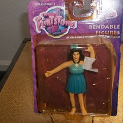 "THE FLINTSTONES ""BETTY""  BENDABLE FIGURES"