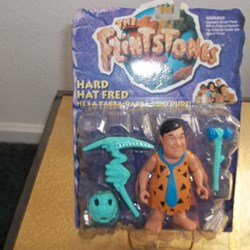 "THE FLINTSTONES "" HARD HAT FRED"""
