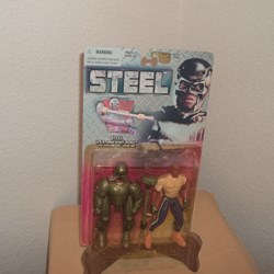 STEEL ACTION FIGURE - (A,K.A.  JOHN HENRY IRONS)