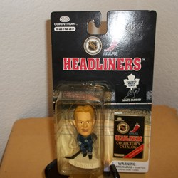 NHL HEADLINERS ACTION FIGURE MATS SUNDIN , TOTANTO MAPLE LEAFS