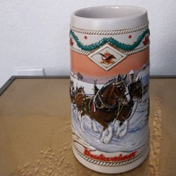 STEIN, BUDWEISER HOLIDAY