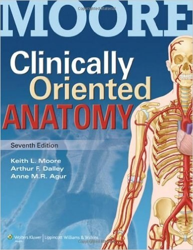 Clinically Oriented Anatomy 7th Edition by Moore (EBook, PDF)