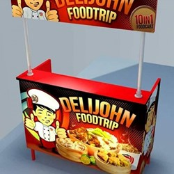 DELIJOHN FOOD CART