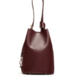 Zara bucket bag convertible into backpack BNWT BURGUNDY M