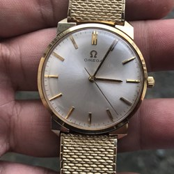 OMEGA 14K SOLID GOLD Hand Winding
