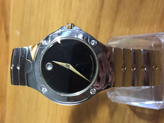 MOVADO SPORT EDITION with 4 Diamonds