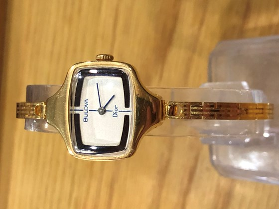 It is BULOVA DIOR Watch. 14k gold filled