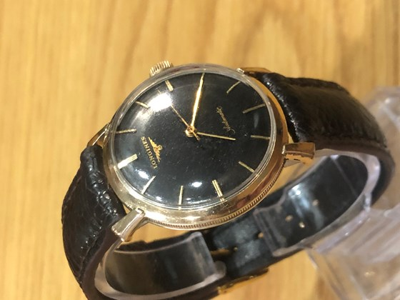 LONGINES Cal.19AS automatic with 10K Gold Filled